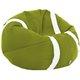 Zielone Jabłko Piłka Fotel Tennis Pufa