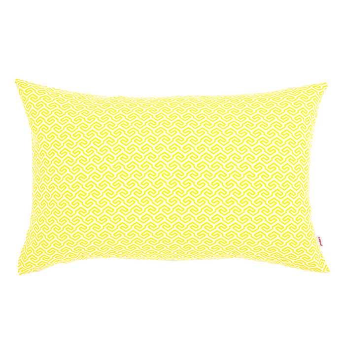 Poduszka Prostokątna Outdoor Żółta z Filtrem UV
