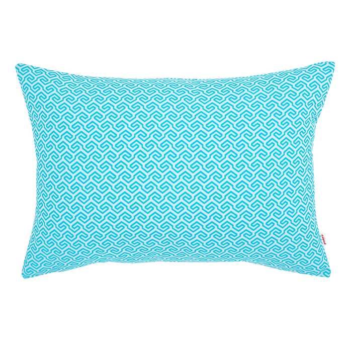 Poduszka Biało Niebieska Outdoor Filtr UV