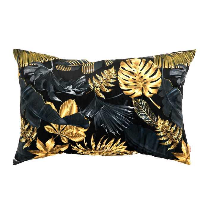 Złote Liście Poduszka Dekoracyjna